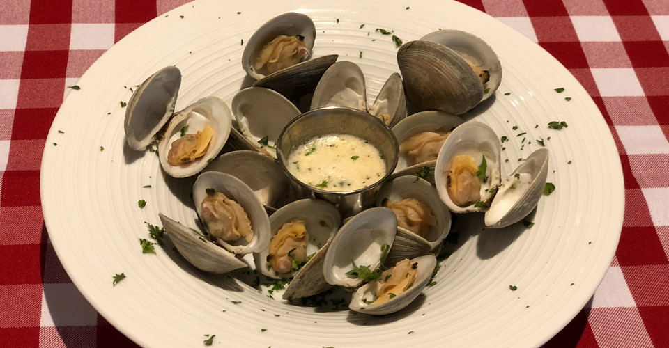 P.J. Clarke's Steamed Clams