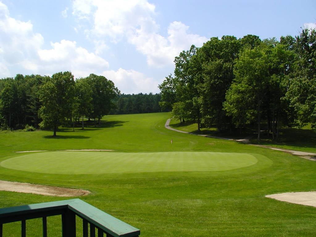 Tioga Golf Club Hole 18 Green