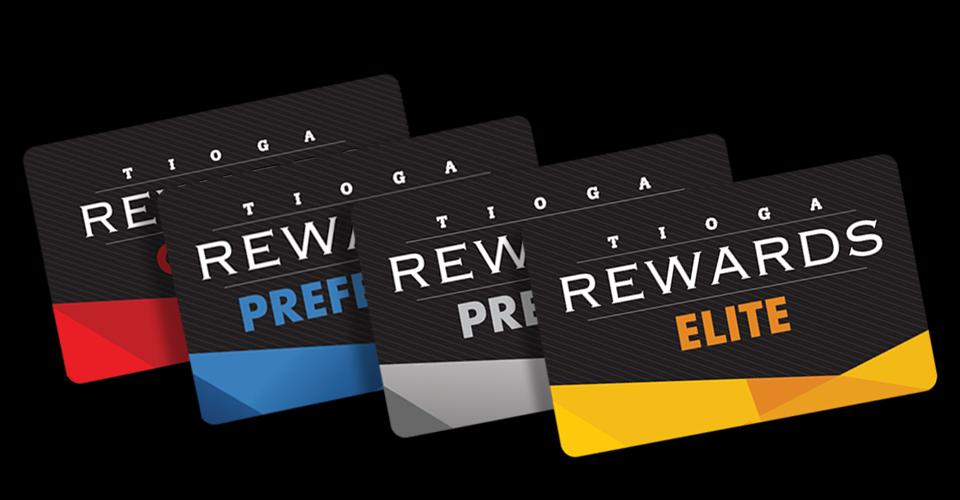 Tioga Rewards Cards
