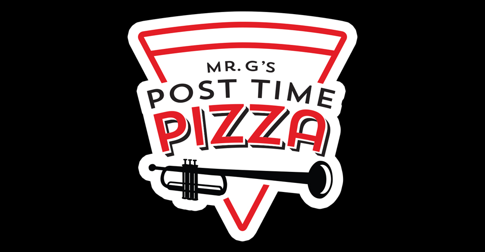 Mr. G's Post Time Pizza Logo
