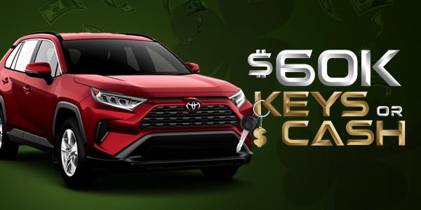 $60K Keys or Cash 2020 Toyota Rav4 XLE Premium